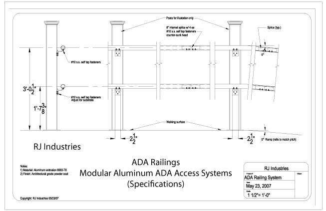Ada Ramp Design Software